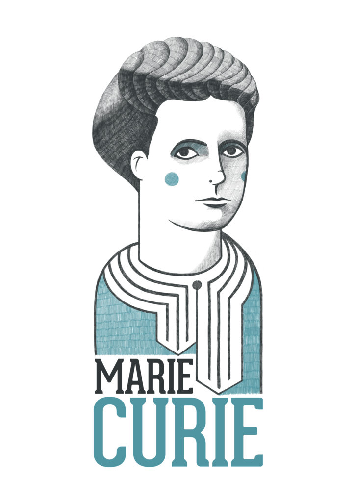 Illustration Marie Curie